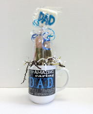 Father's Day Gourmet Biscotti Coffee Mug