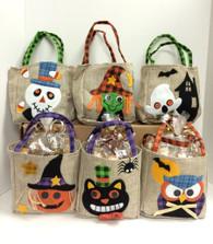 Halloween Burlap Gift Bag