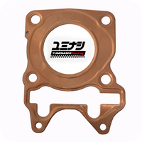 YUMINASHI 62MM COPPER RACING GASKET (NO HOLES!) (12251-K97-620R)