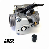 YUMINASHI 31MM B-TYPE THROTTLE BODY (WITH STAINLESS THROTTLE CABLE BRACKET) (16420-KZR-031)