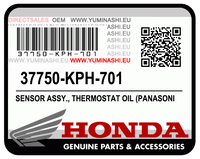 E-04/ 03. SENSOR ASSY., THERMOSTAT OIL (MSX125 / GROM125)