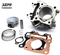 YUMINASHI 164CC FLAT DECK BIG BORE CYLINDER KIT (eSP 125cc Engines) (12103-KZR-6013XB)