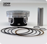 YUMINASHI 164CC BORE UP PISTON FOR 125CC ENGINES (FOR 150 HEAD)