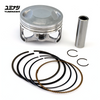 YUMINASHI 62MM BORE UP PISTON SET (TO BE USED WITH 150 HEAD) (13100-KWN-620B)