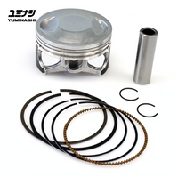 YUMINASHI 62MM LIGHT BORE PISTON SET (eSP 150 ENGINES) (13100-KZY-620A)
