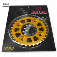 420 32T 7075-T6 Aviation Grade Sprocket, hand finished with self cleaning design...