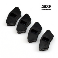 Genuine Yuminashi rubbers for improved durability and reliability...
