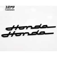 Flexible Black Honda S800 logo for your Chaly, Dax or Trail lowrider