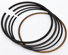 Yuminashi 164cc Piston Rings treated with a hard chromium plating layer (Cr)
