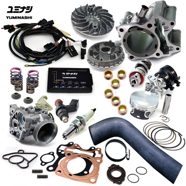 164cc, PGM-FI Controller, 31mm Throttle Body, Twin-Spark Spark Plug, this kit has it all!!...