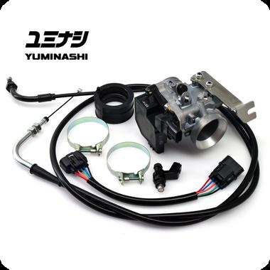 YUMINASHI 31MM THROTTLE BODY & INJECTOR SET (FORZA125 / NSS125) (16400-K40-031C)