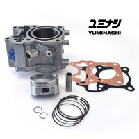 153CC DOME PISTON & CYLINDER KIT (FOR 125CC ENGINES) (12103-KZR-5813B)