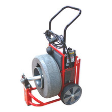 DM162 - Professional mini upright drain machine is easy to move through doorways