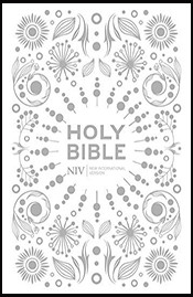 NIV Pocket White Gift Bible