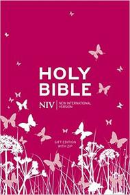NIV Pocket Bible (Pink Soft-tone with Zip)