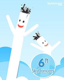 White sky dancer.