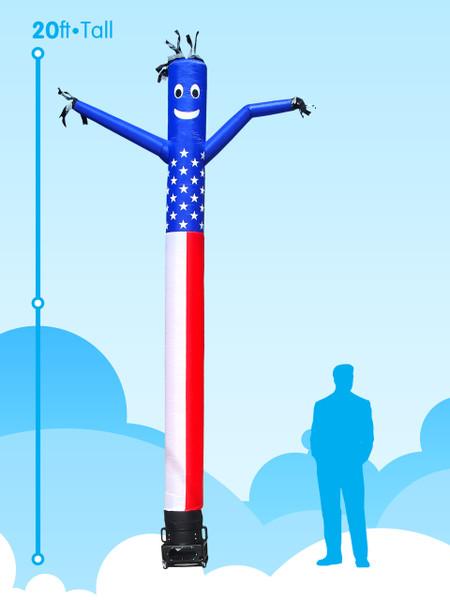 Sky Dancer American Flag - 20ft