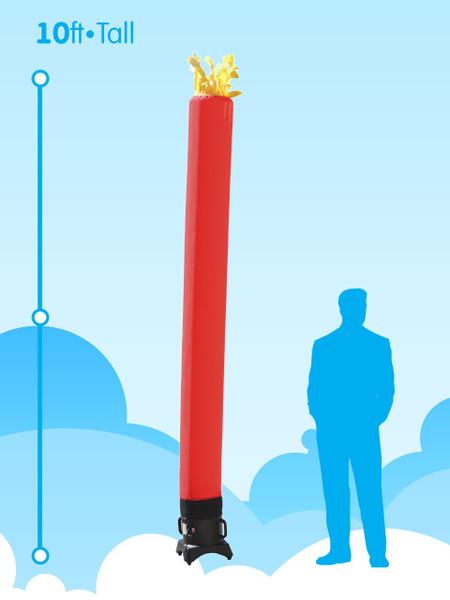 Sky Dancer Tube Red - 10ft