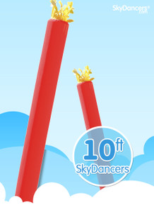 Sky Dancers Tube Red - 10ft