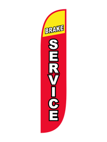 Brake Service Feather Flag
