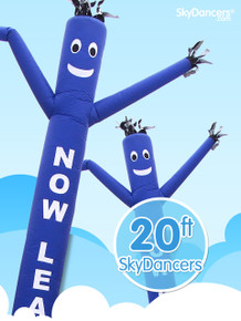 Sky Dancers Now Leasing Blue - 20ft