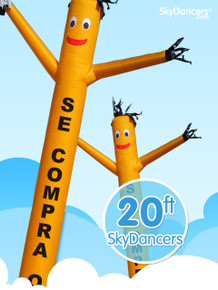 Sky Dancers Se Compra Oro Yellow - 20ft