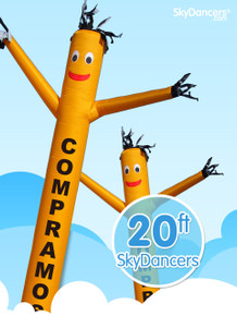 Sky Dancers Compramos Oro Yellow - 20ft