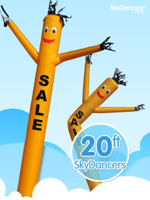 Sky Dancers Sale Yellow - 20ft