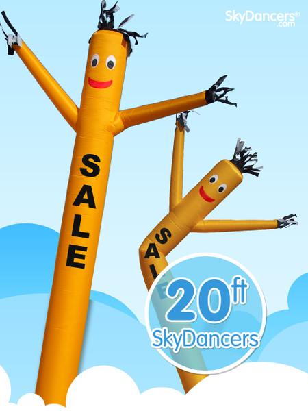 Sky Dancers Sale Yellow - 20ft