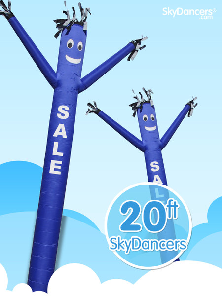 Sky Dancers Sale Blue - 20ft
