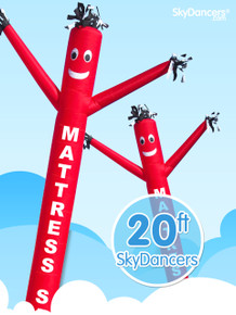 Sky Dancers Mattress Sale Red - 20ft