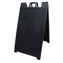 Black Plastic A-Frame