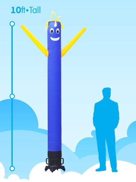 Sky Dancer Blue & Yellow - 10ft