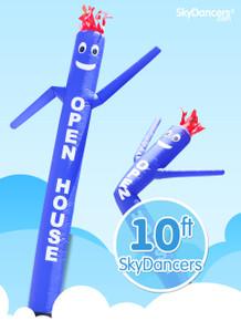 Sky Dancers Blue OPEN HOUSE - 10ft