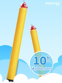 Sky Dancers Tube Yellow - 10ft