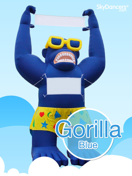 Giant Gorilla - Blue