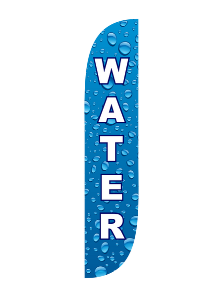 Water Feather Flag