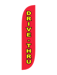Drive-Thru Feather Flag