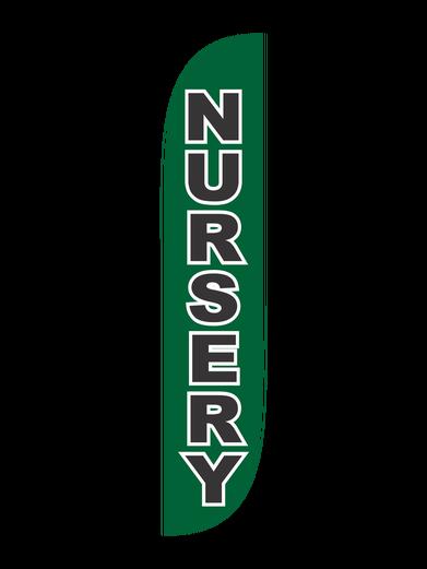 Nursery Feather Flag