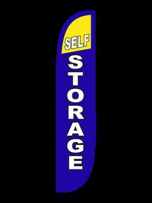Self Storage Feather Flag