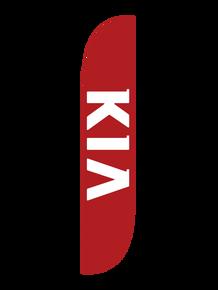 Kia Red Feather Flag