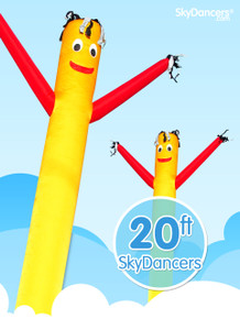 Sky Dancers Yellow & Red - 20ft
