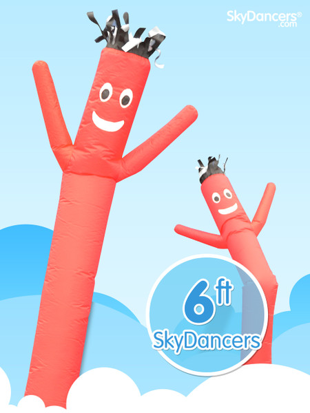 Sky Dancers Red - 6ft