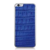 iPhone 6 Back Genuine Crocodile Cobalt