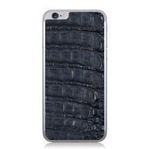 iPhone 6 Back Genuine Crocodile Navy