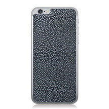 iPhone 6 Back Genuine Stingray Navy Polished