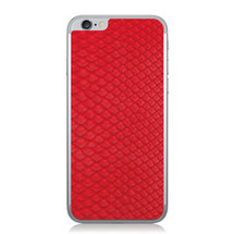 iPhone 6 Back Genuine Python Red - Small Scale