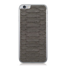 iPhone 6 Back Genuine Python Grey