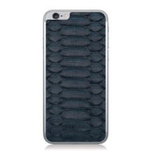 iPhone 6 Back Genuine Python Navy