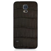 Samsung Galaxy S5 Back Genuine Alligator Black